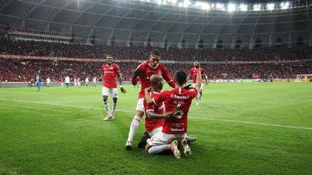 Con Paolo Guerrero, Internacional venció 1-0 (5-4) a Palmeiras en penales y pasó a la semifinal de la Copa Brasil 2019