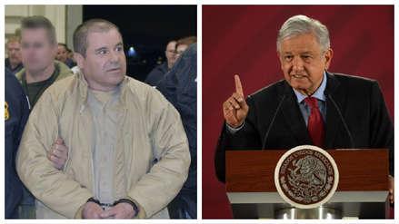 """El presidente de México sobre condena al Chapo Guzmán: """"No le deseo mal a nadie"""""""