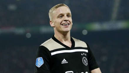 ¡Atención Real Madrid! Ajax no descarta salida de Donny Van De Beek