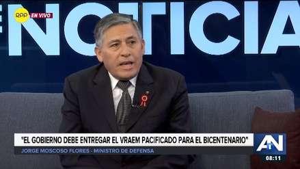 Ministro de Defensa: