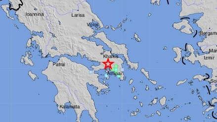 Un terremoto de magnitud 5.3 remeció Atenas