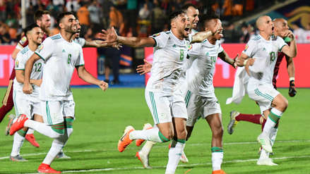¡Campeón! Argelia ganó 1-0 a Senegal y obtuvo la Copa de África por segunda vez en su historia