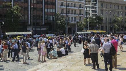 El terremoto en Atenas causó varios derrumbes y provocó pánico en la población