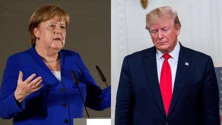 Angela Merkel se solidarizó con las cuatro congresistas atacadas por Donald Trump