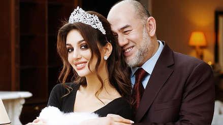 El extraño divorcio del rey de Malasia que renunció al trono para casarse en secreto con una miss rusa