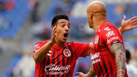 Tijuana se llevó un triunfo como visitante ante Puebla en su debut en el Apertura de la Liga MX