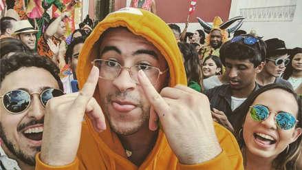 Bad Bunny se retira temporalmente de la música para apoyar protestas en Puerto Rico