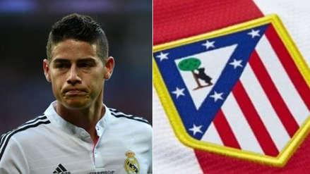 Real Madrid pide esta cifra millonaria por James Rodríguez y no descarta al Atlético