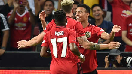 Con Paul Pogba, Manchester United venció 1-0 a Inter de Milán por la International Champions Cup