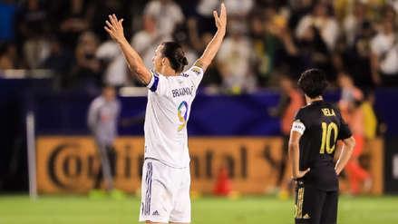 Zlatan Ibrahimovic ganó duelo a Carlos Vela tras anotar fantástico triplete en la MLS | VIDEO