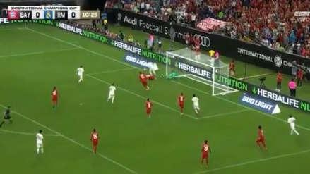 ¡La salvó en la línea! Manuel Neuer le negó el gol a Karim Benzema con espectacular atajada
