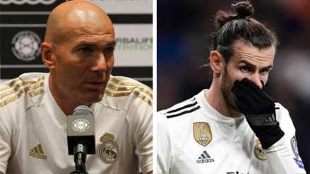 Zinedine Zidane confirmó salida de Gareth Bale del Real Madrid: