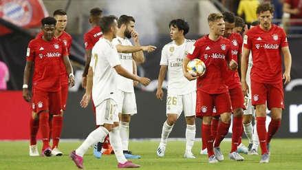En el debut de Eden Hazard, Real Madrid cayó 3-1 ante el Bayern Munich por la International Champions Cup