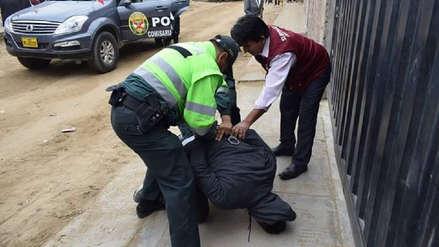 Delincuente roba celular a una profesora, intenta huir corriendo y subprefecto lo reduce en Trujillo