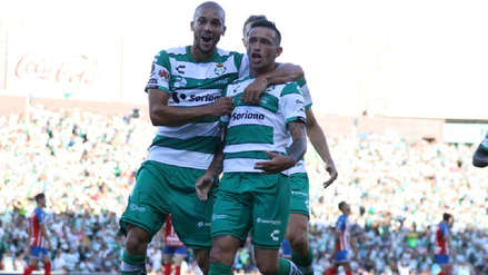 Santos Laguna goleó 3-0 a Chivas en la primera jornada del Torneo Apertura de la Liga MX