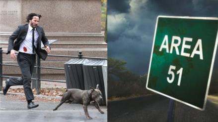Keanu Reeves y su perrito asaltan el Área 51 en divertido videojuego creado por fans