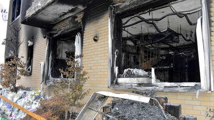 Autor del incendio que dejó 34 muertos en Japón habría actuado por venganza