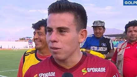 Henry Vaca tras su debut con Universitario: