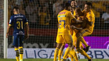 Tigres UANL se impuso por 4-2 ante el Morelia en la primera fecha de la Liga MX