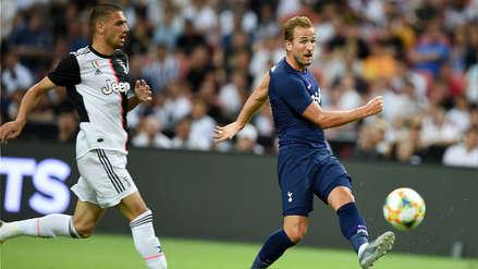 ¡Desde media cancha! Harry Kane aseguró la victoria del Tottenham ante Juventus con un golazo