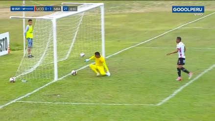 ¡Se le escapó de las manos! El imperdonable error de Ángel Zamudio en el Sport Boys vs. Unión Comercio