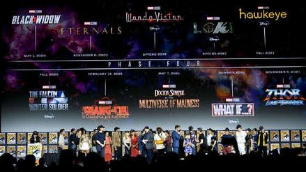 Marvel anunció su plan de 11 películas y series para los próximos dos años