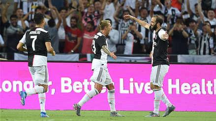 ¿Se queda o se va? Gonzalo Higuaín marcó el primer gol de la Juventus ante el Tottenham