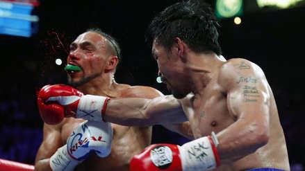 Manny Pacquiao campeón peso wélter de la AMB: 17 fotos de los mejores momentos de la victoria ante Keith Thurman