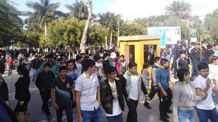 Lambayeque: Universidad Pedro Ruiz Gallo suspendió examen de admisión por