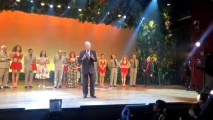 """Mario Vargas Llosa tras ver el musical de """"Pantaleón y las visitadoras"""": """"Ya pasó el susto, estoy contentísimo"""""""