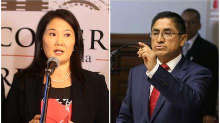 Nuevo colaborador eficaz asegura que Keiko Fujimori se reunió con César Hinostroza en Miraflores