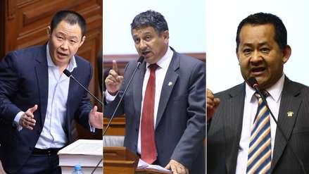 Pleno del Congreso rechazó el retorno de Kenji Fujimori, Guillermo Bocángel y Bienvenido Ramírez