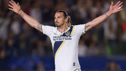 Zlatan Ibrahimovic fue elegido como el 'Jugador de la semana' de la MLS tras anotar tres goles