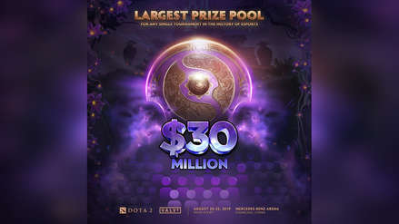 ¡$30 millones! The International 2019 rompe récord histórico como el torneo de esports con mayor pozo de premios