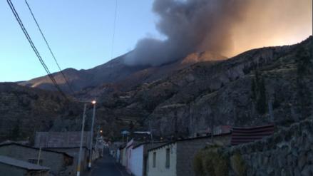 Minsa: Población cercana al volcán Ubinas sufre obstrucción de vías respiratorias y problemas oculares