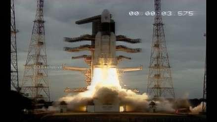 La India lanzó con éxito su misión al inexplorado polo sur de la Luna [VIDEO]
