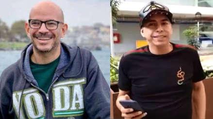 Ricardo Morán felicitó a Ernesto Pimentel por su paternidad y le dice que