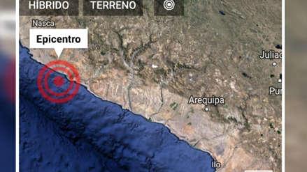 Un sismo de magnitud 4.9 remeció la provincia de Caravelí en Arequipa