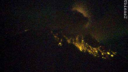 Nueva explosión del volcán Ubinas genera alerta de dispersión de cenizas sobre tres regiones