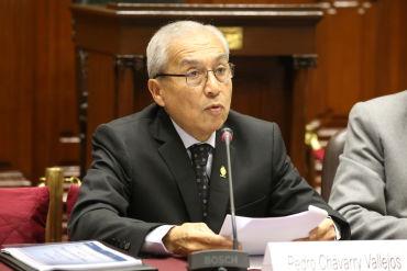 Pedro Chávarry solicitó por tercera vez que se reprograme su presentación en el Congreso