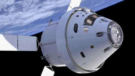 NASA presentó la nave espacial Orion que utilizarán en la misión lunar Artemis 1