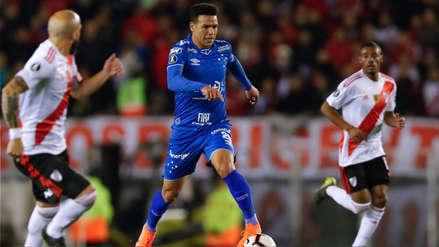 ¿Estaba habilitado? VAR le anuló gol a Cruzeiro ante River Plate