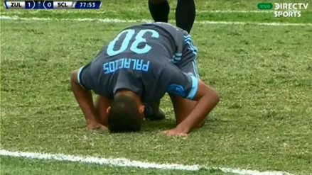 ¿Qué hiciste, 'Chorri'? La imperdonable ocasión de gol errada por Cristian Palacios frente al arco de Zulia