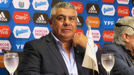Claudio Tapia fue retirado de su cargo en la Conmebol por sus comentarios en la Copa América