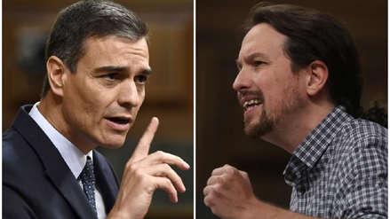 España | El PSOE y Podemos sin acuerdo a horas de la investidura de Pedro Sánchez