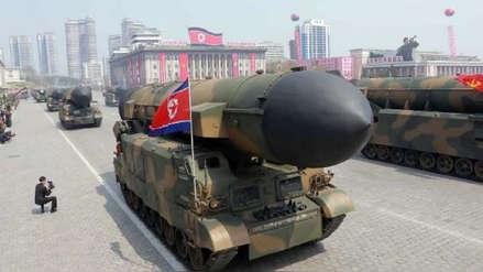 Corea del Norte disparó un