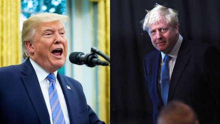 """Donald Trump: """"Boris Johnson es lo que necesita Reino Unido"""""""