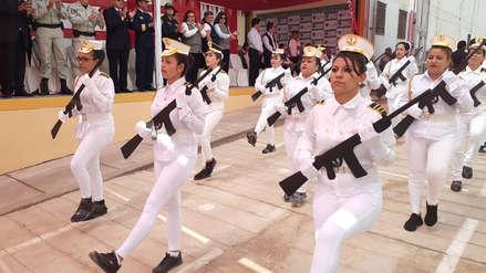 Internos del penal de Chiclayo desfilaron por Fiestas Patrias