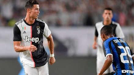 Con Cristiano Ronaldo, Juventus venció a Inter de Milán por penales en la International Champions Cup