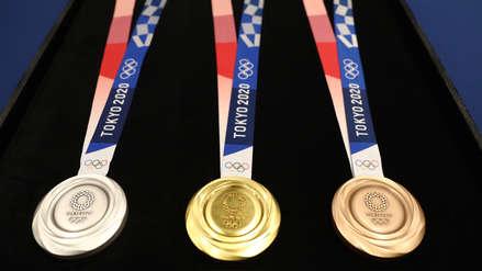 ¡Impecables! Conoce las medallas que se entregarán en los Juegos Olímpicos Tokio 2020